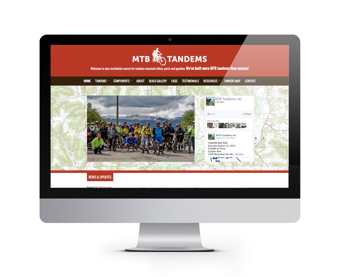 MTB Tandems iMac