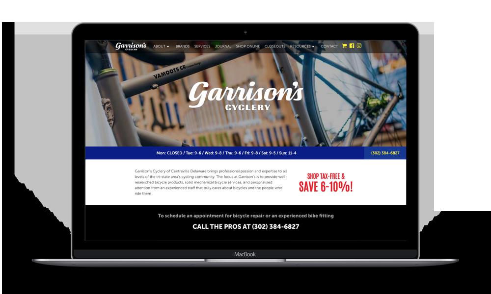 Garrison's Mockup