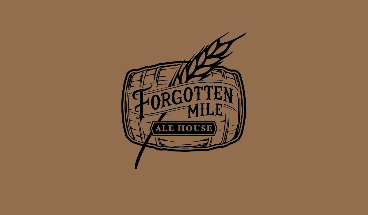 Logo 3 - Forgotten Mile Ale House