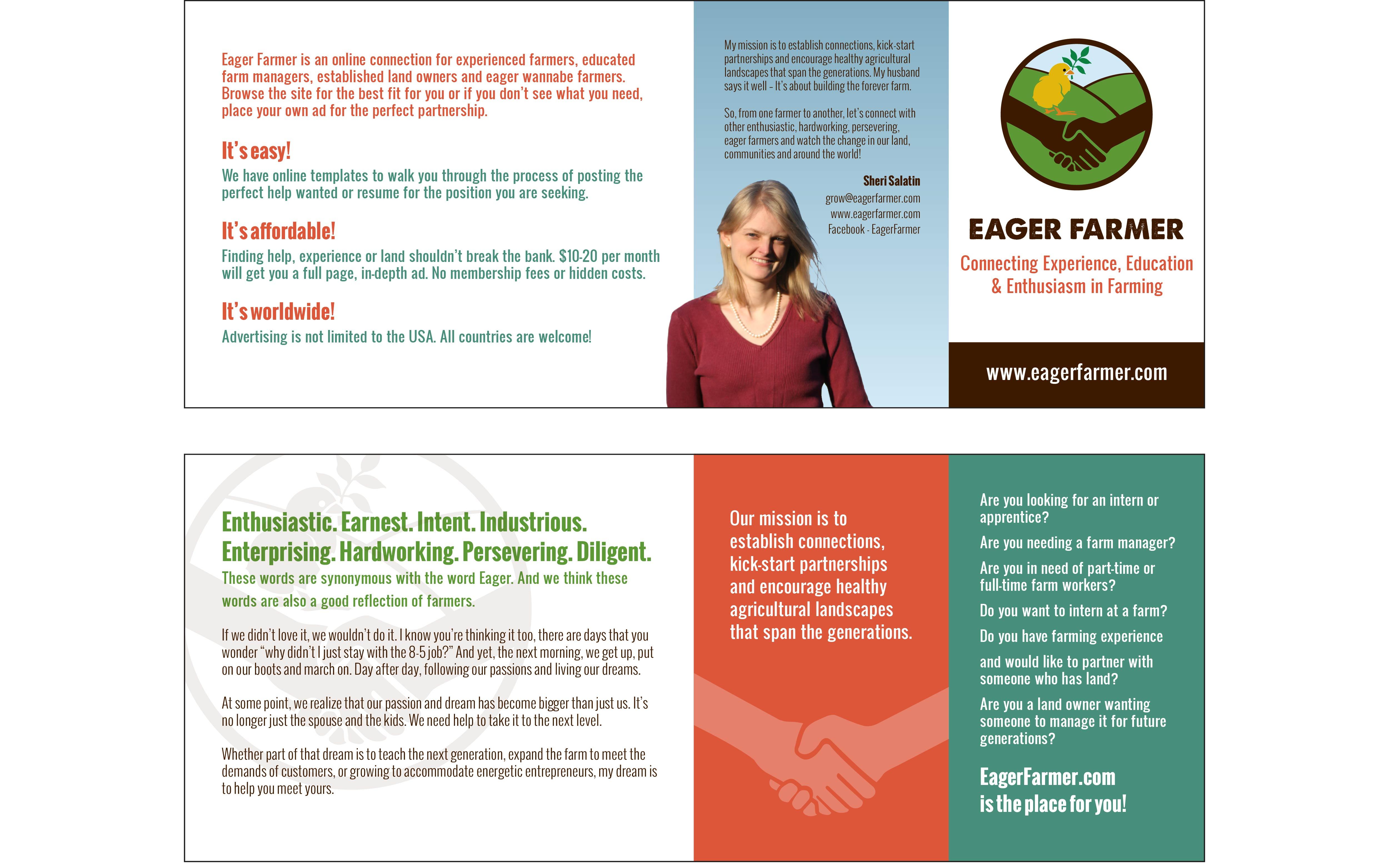 Mini Brochure (for portfolio) - Eager Farmer